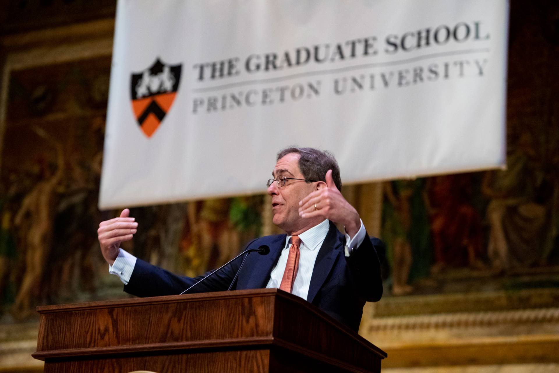 Christopher Eisgruber welcomes graduate students