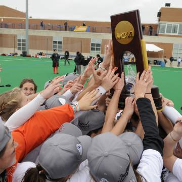 Field hockey team celebrates NCAA championship