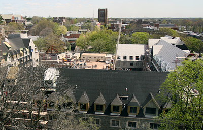 Whitman College construction
