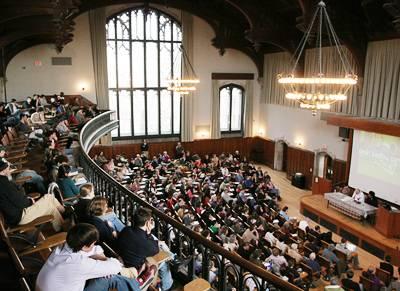 Venerable Lecture Hall Reaches Century Milestone