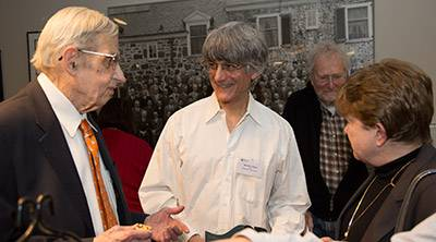 John Nash receives Abel Prize with Alicia Nash and David Gabai