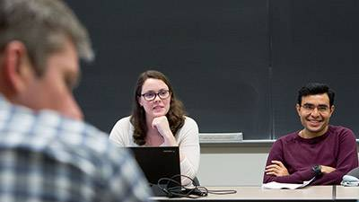 Government in Hard Places graduate students in classroom