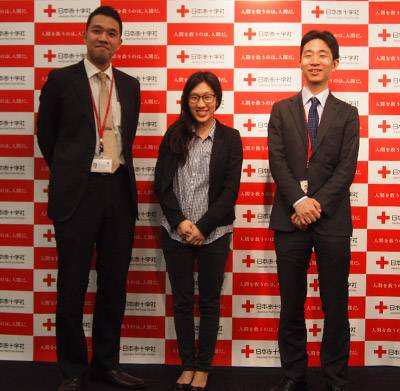 Senior Thesis Hanna Kim with Japanese Red Cross