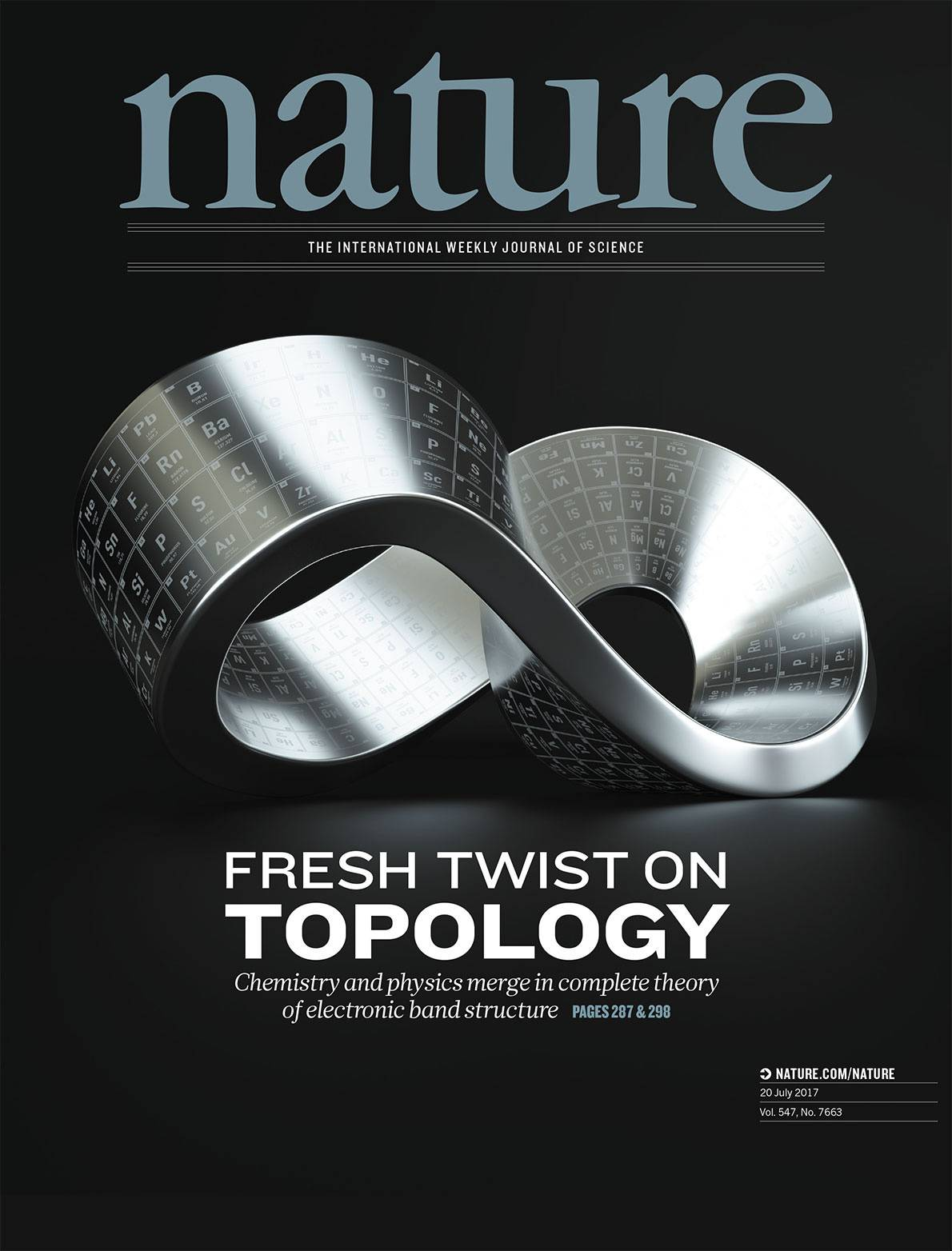 Cover of periodical Nature