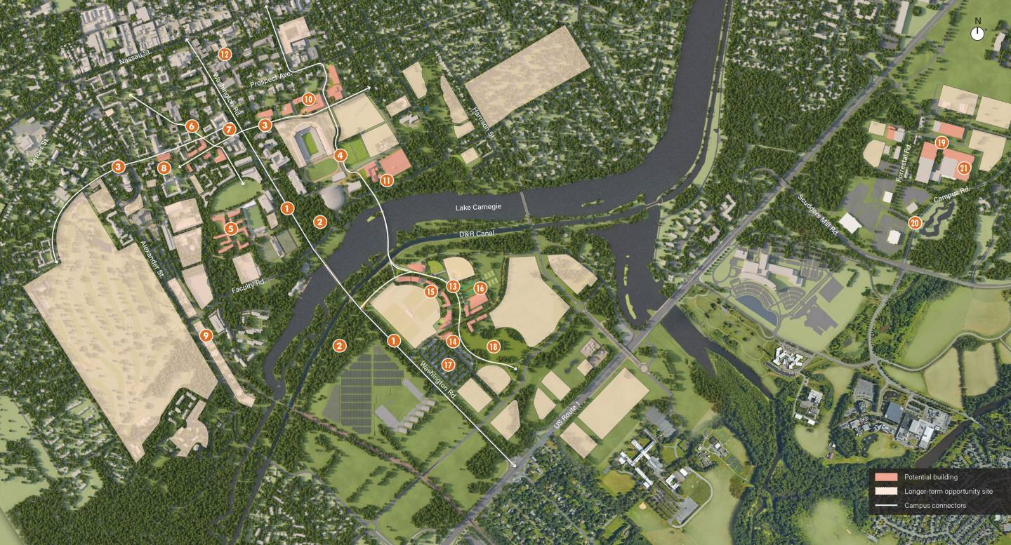 Princeton issues planning framework to guide campus - Princeton university office of admissions ...