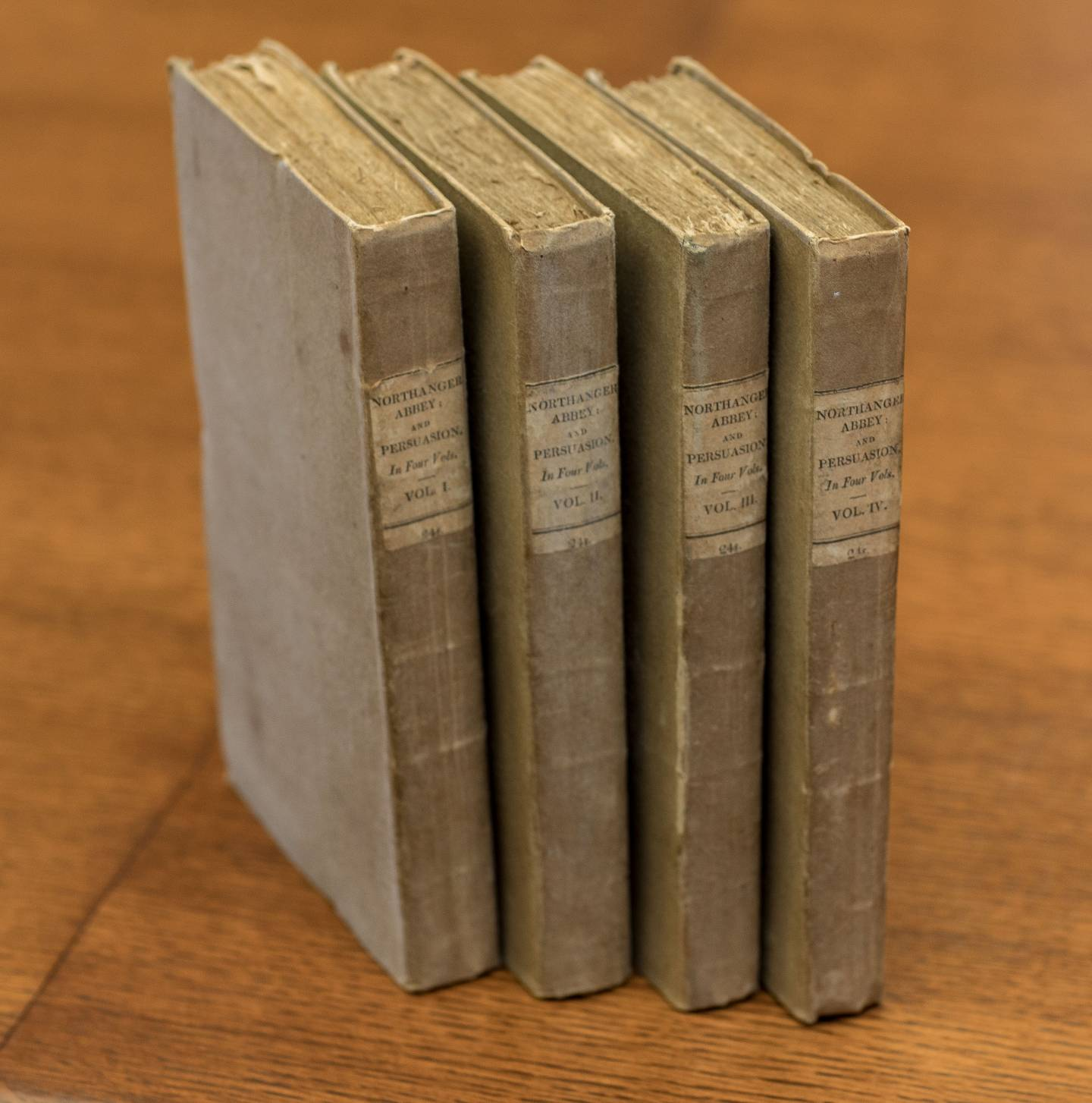First editions of Northanger Abbey