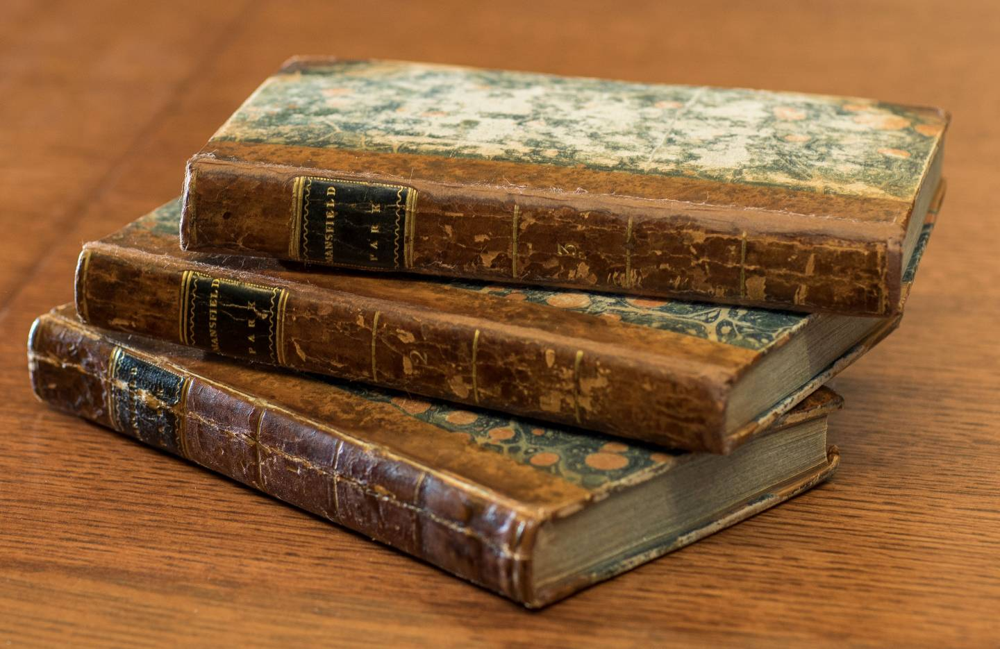 First editions of Mansfield Park