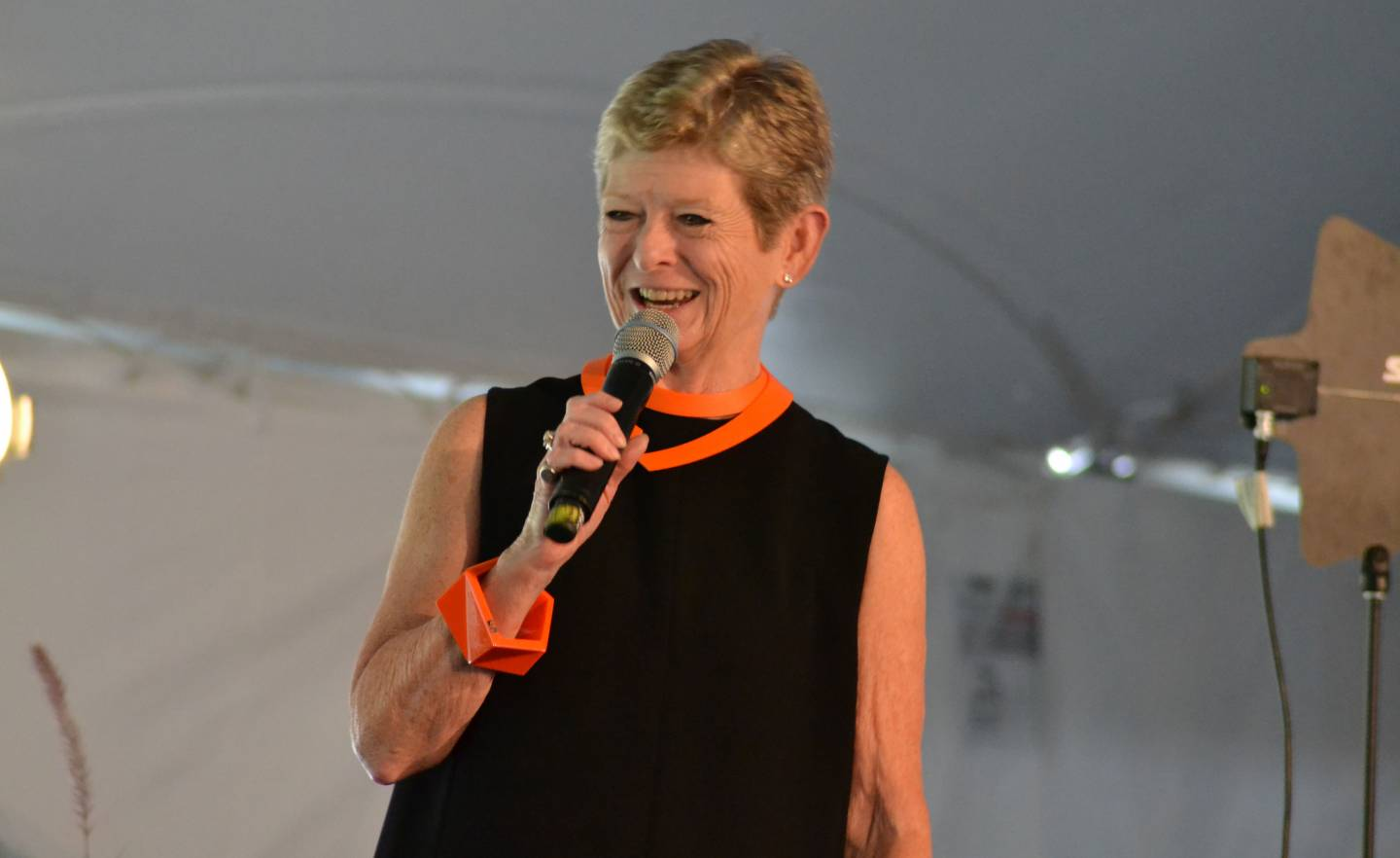Georgia Nugent speaking to She Roars audience