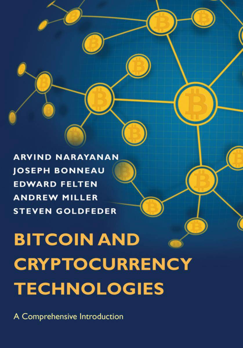 """Bitcoin and Cryptocurrency Technologies"" book cover"