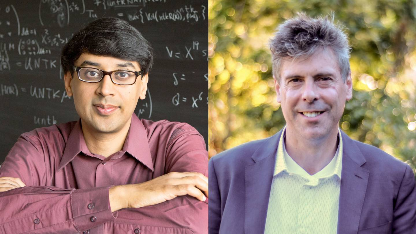 Bhargava and Scholes elected to Royal Society