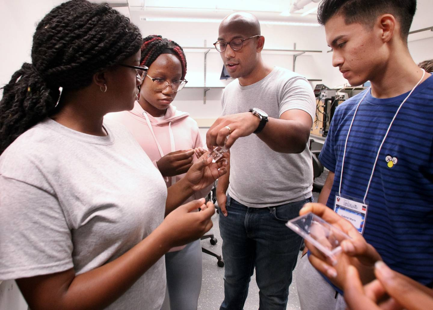 High school students connect materials science to future careers and global challenges
