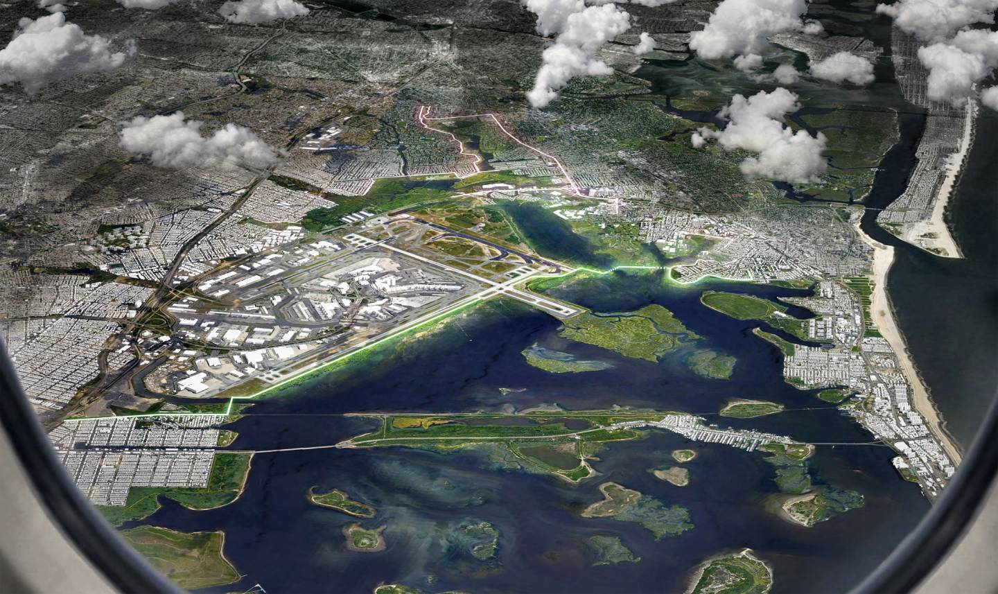 Princeton collaborators bring layered approach to coastal resiliency in New York City
