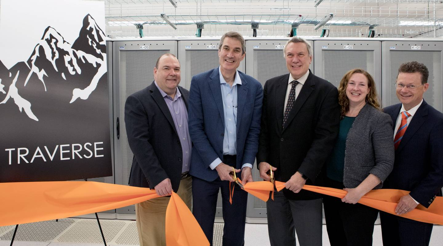 Princeton's new supercomputer, Traverse, to accelerate scientific discovery in fusion research