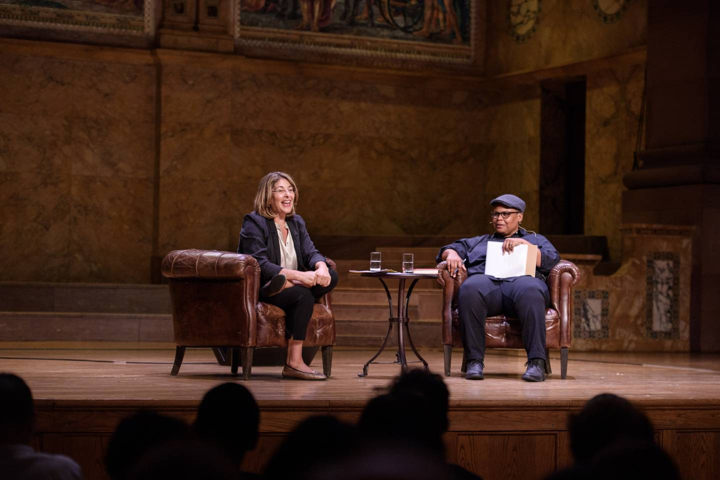 Author Naomi Klein fires up discussion of climate crisis and action