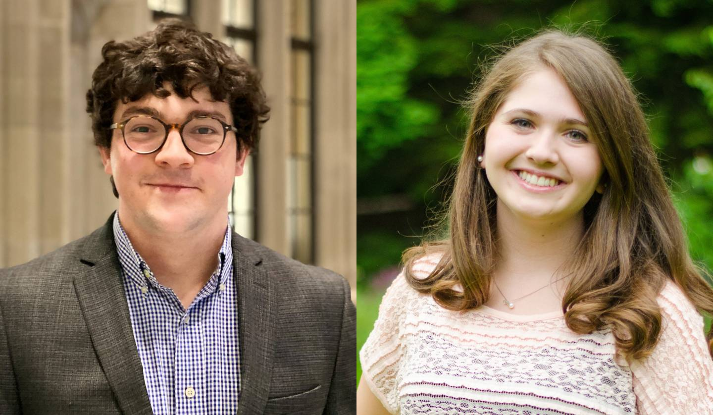 Seniors Brown, Fried awarded Marshall Scholarship for graduate study in the UK