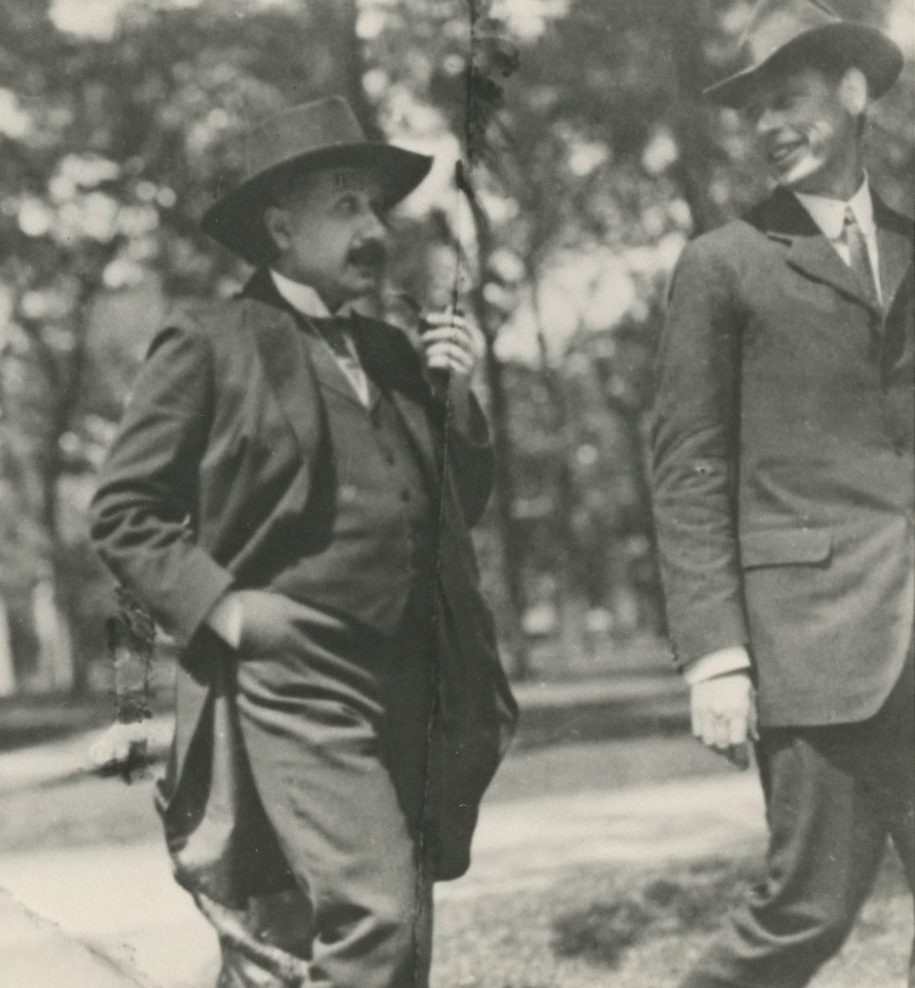 Einstein and Veblen