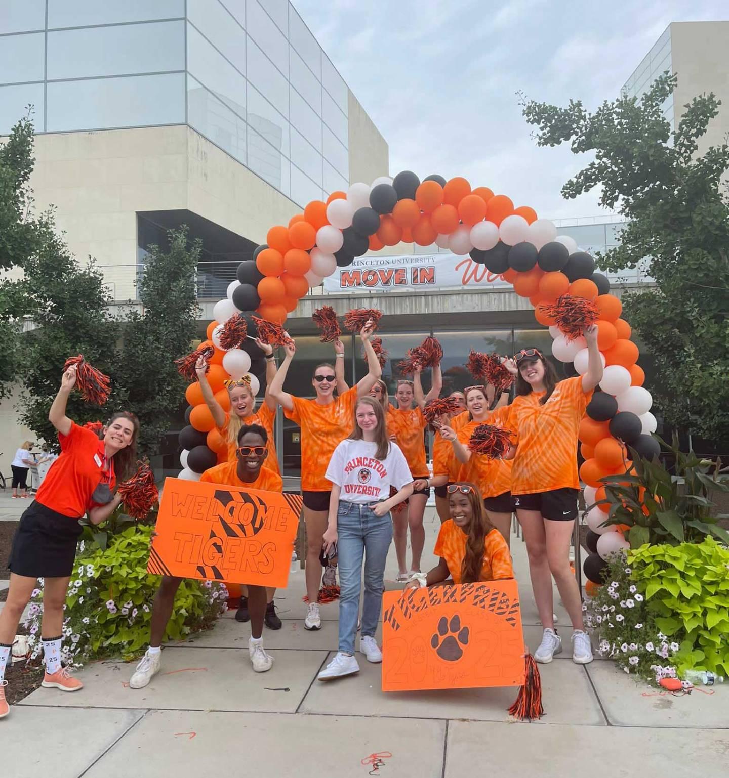 Princeton University welcome brigade