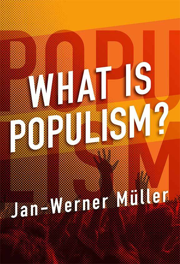 "Cover of the book ""What is Populism?"" by Jan-Werner Müller"