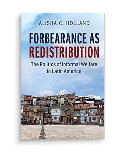 "Book cover of ""Forbearance as Redistribution"""