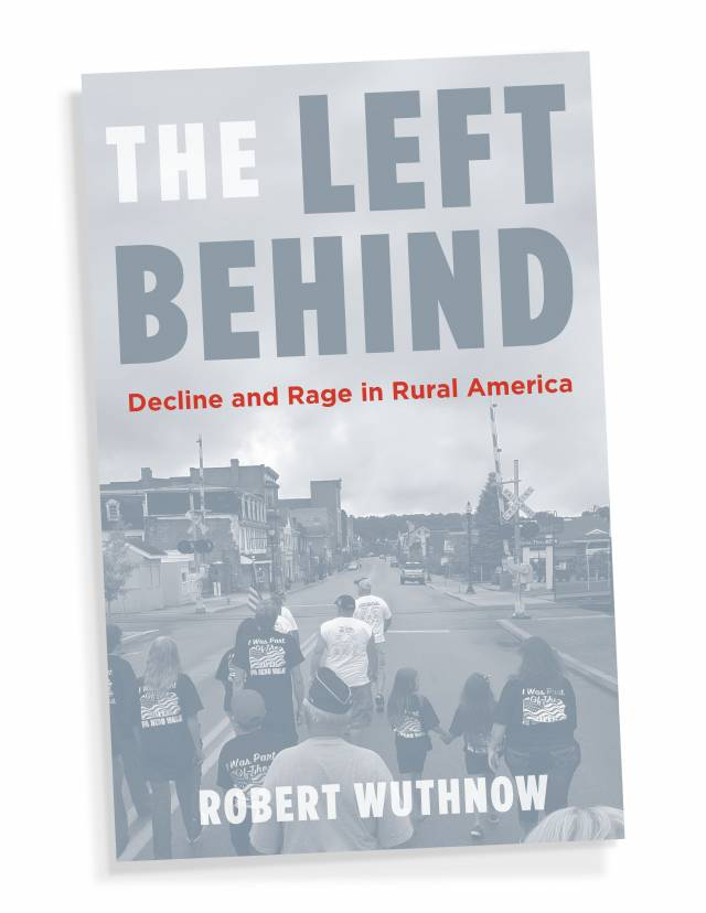 "Book cover ""The Left Behind"""