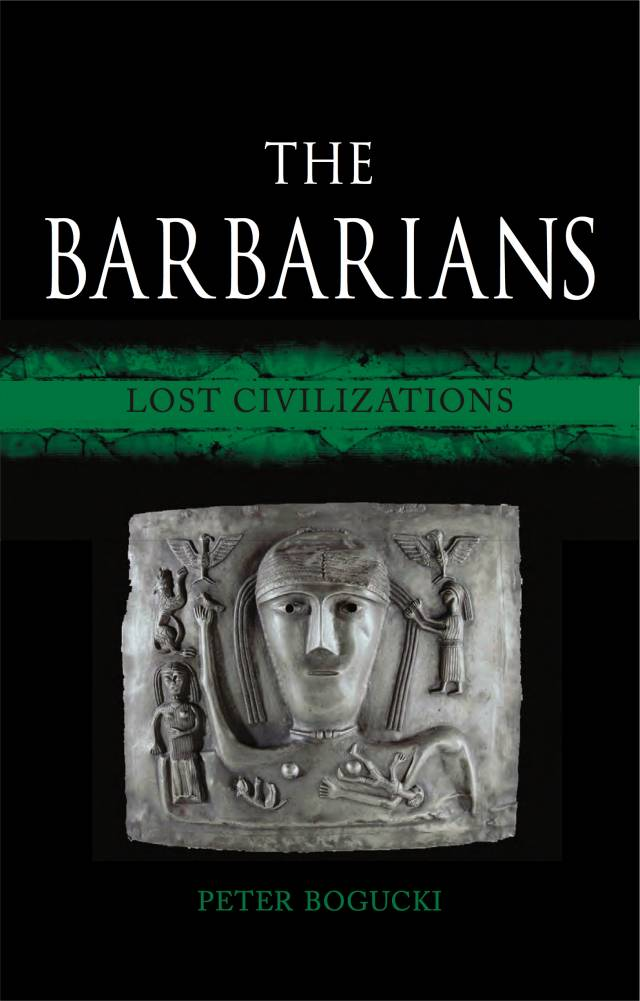 "Cover of the book ""The Barbarians"""