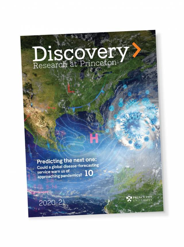 Discovery magazine 2020 cover