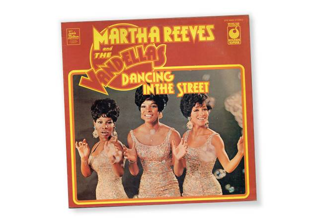"""Martha and the Vandellas album cover of """"Dancing in the Streets"""""""