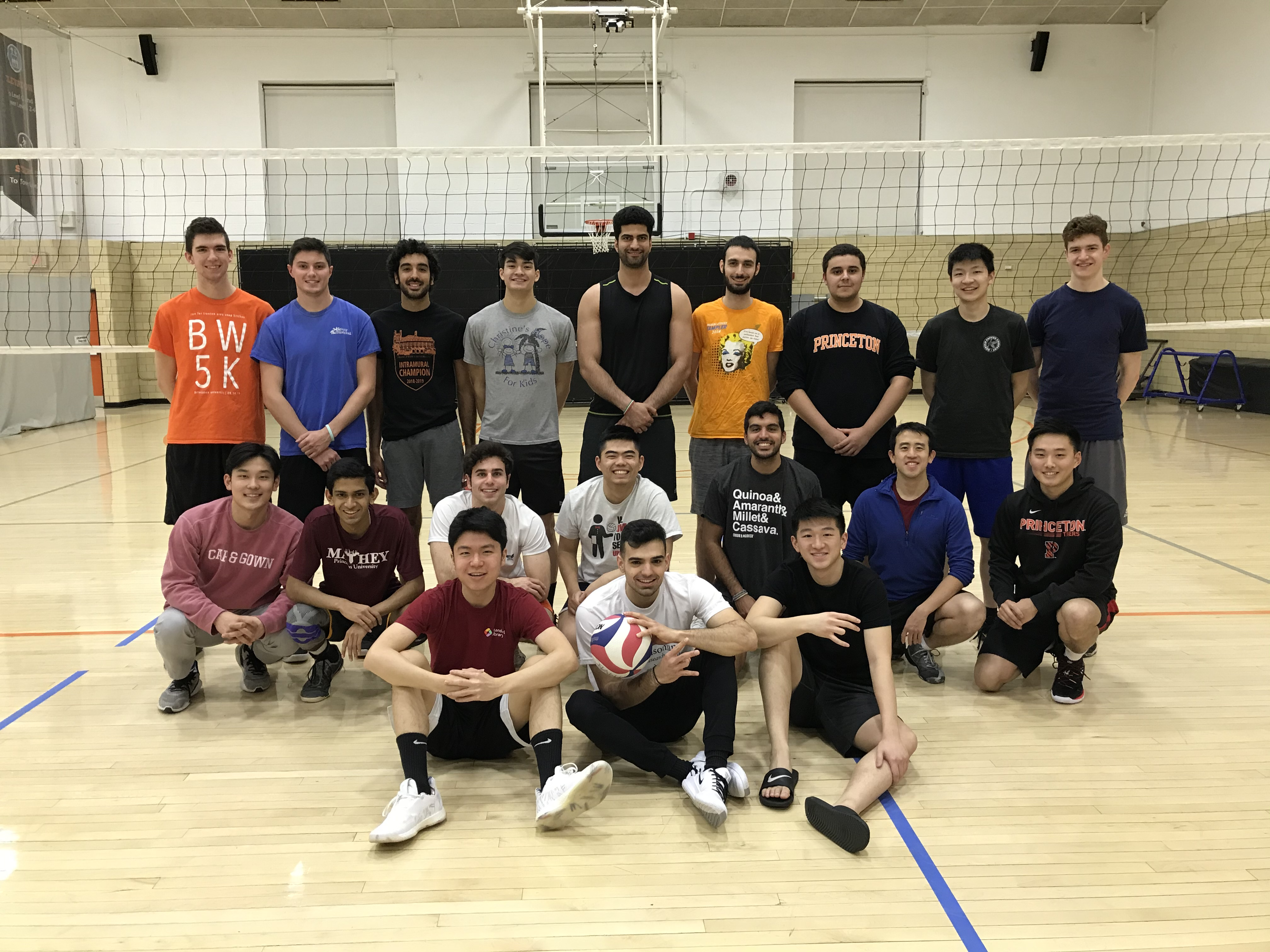 About Princeton Men S Club Volleyball