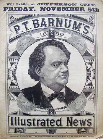 Image result for pt barnum illustrated news
