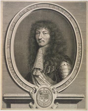 King Louis XIV Sun God