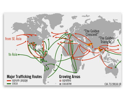 Narco trafficking in the americas