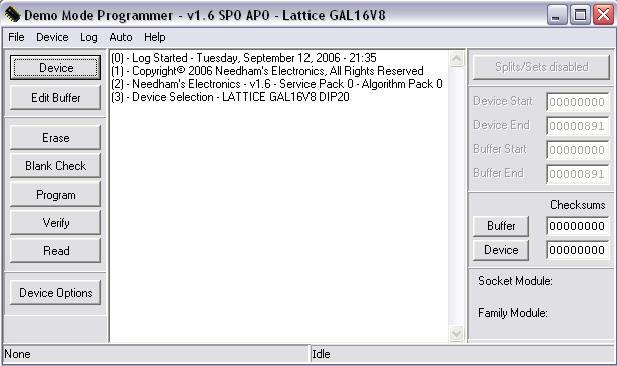 EEPROM Programming Instructions